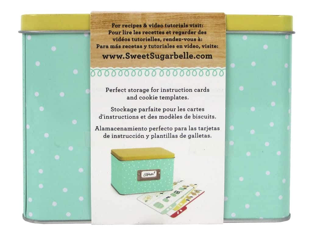 American Crafts Sweet Sugarbelle Recipe Card Tin