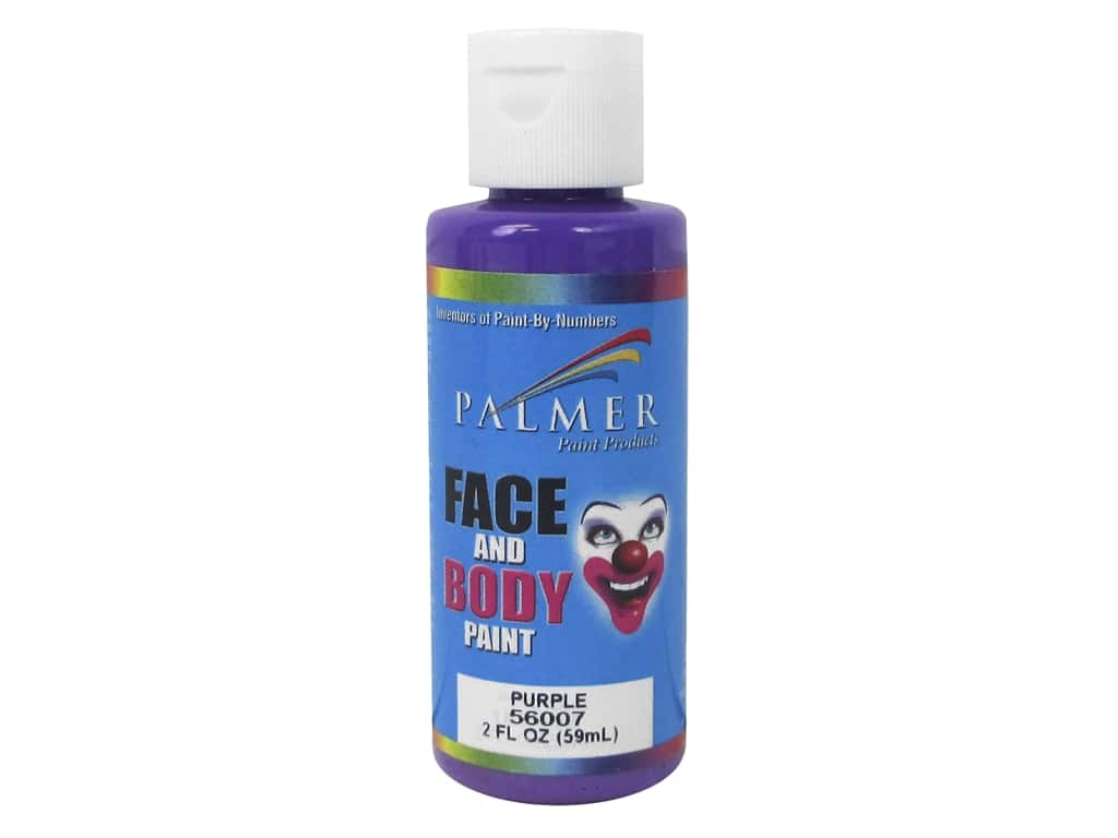 Palmer Face and Body Paint 2 oz. Purple