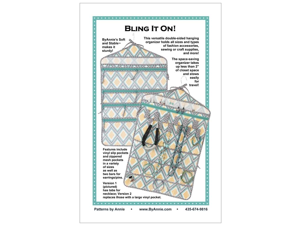 By Annie Bling It On Pattern