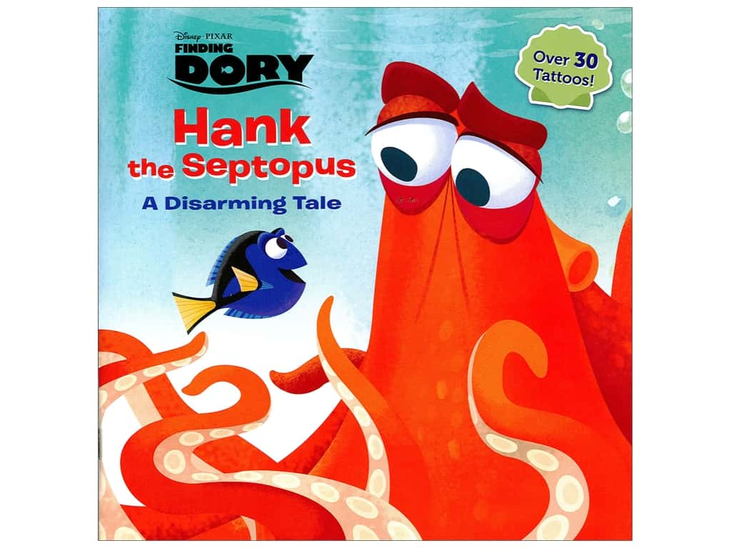 Disney Finding Dory Hank The Septopus Book