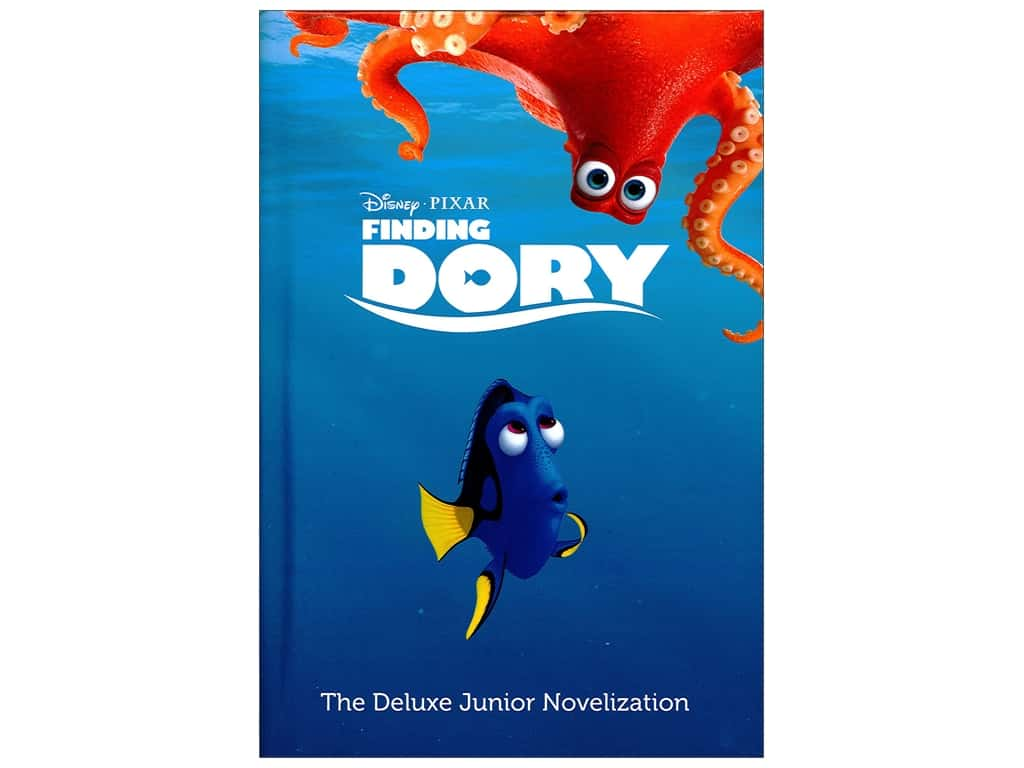 Disney Finding Dory Deluxe Junior Novelization Book