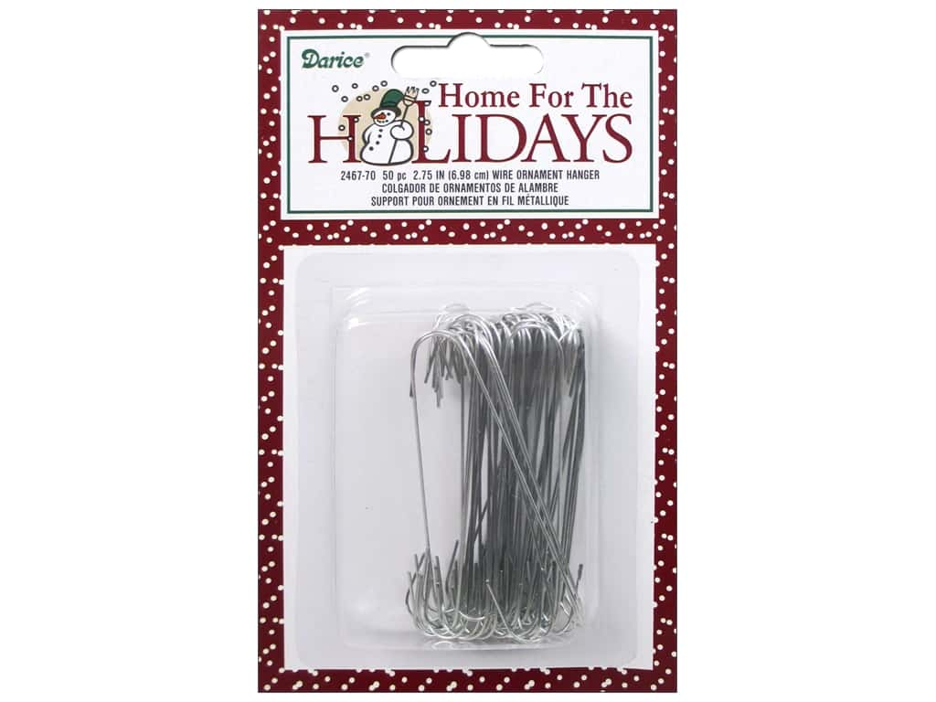 Darice Holiday Christmas Wire Ornament Hanger