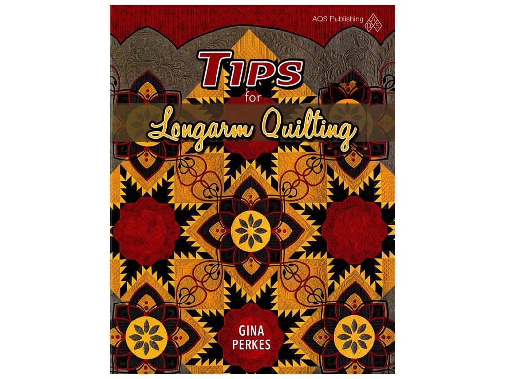 American Quilter's Society Tips for Longarm Quilting Book