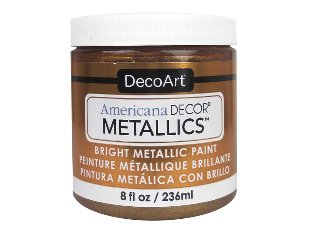 DecoArt Americana Decor Metallics 8 oz. Bronze
