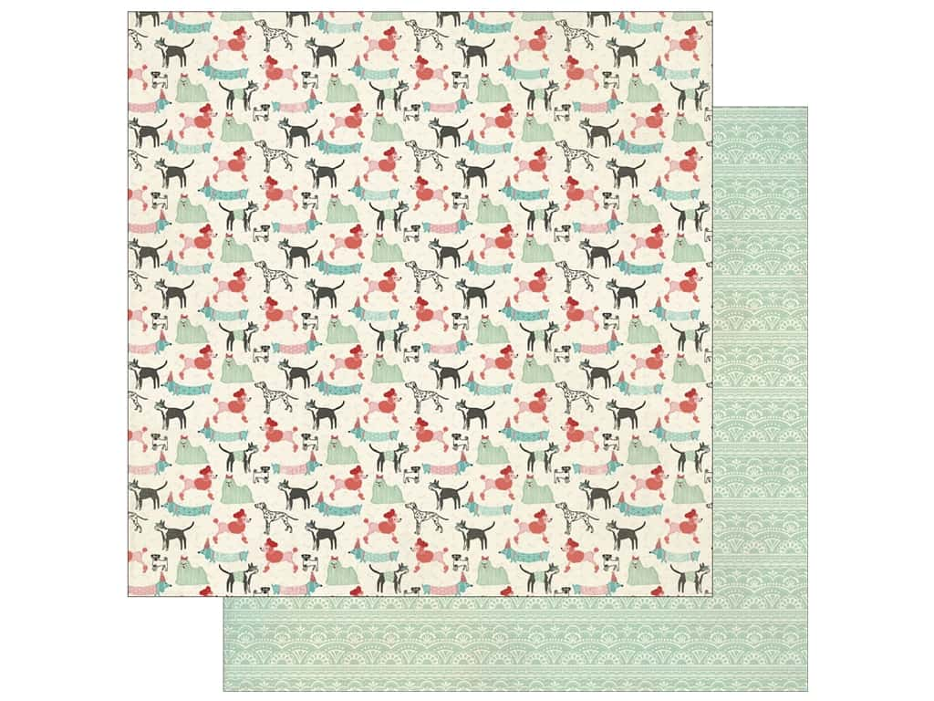 Authentique 12 x 12 in. Paper Fabulous Three (25 sheets)