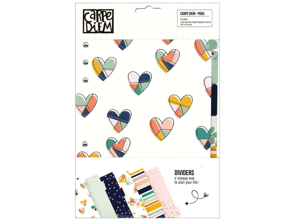 Simple Stories Collection Carpe Diem Posh Dividers