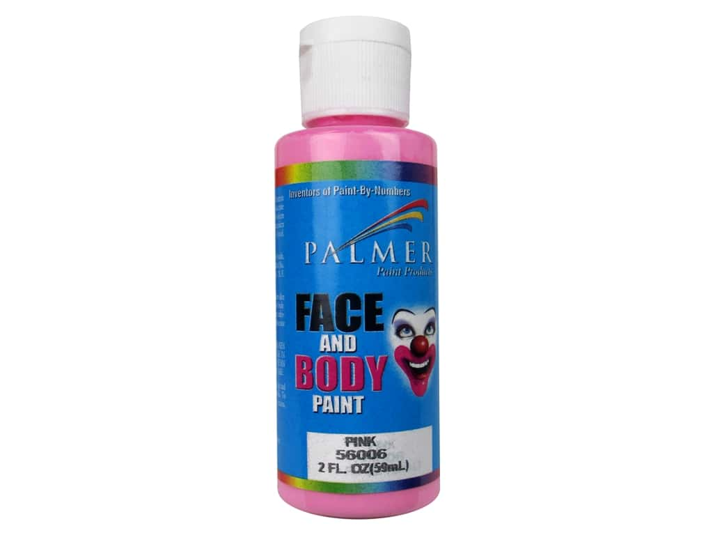 Palmer Face and Body Paint 2 oz. Pink