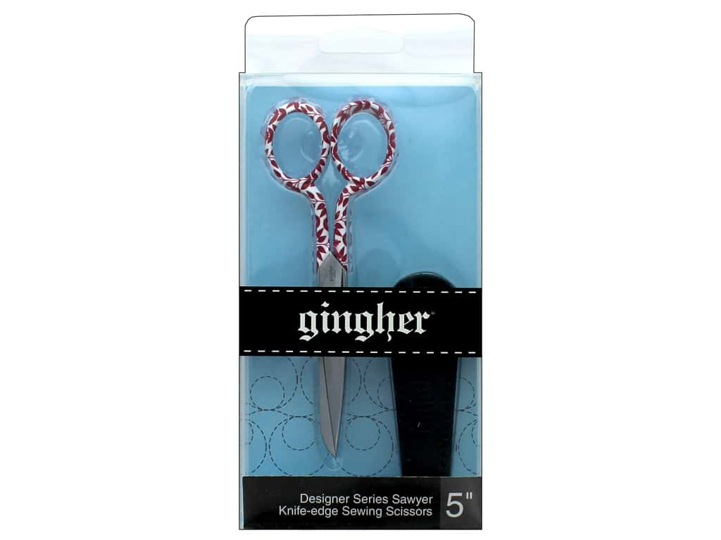 Gingher 5 in. Designer Knife Edge Sewing Scissors - Sawyer