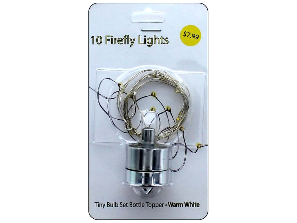 Sierra Pacific Crafts Lights Firefly Ornament Battery Warm White