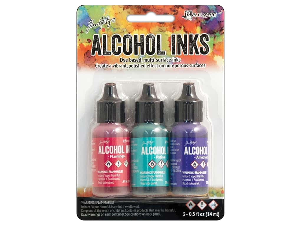 Tim Holtz Alcohol Ink by Ranger .5 oz. Beach Deco