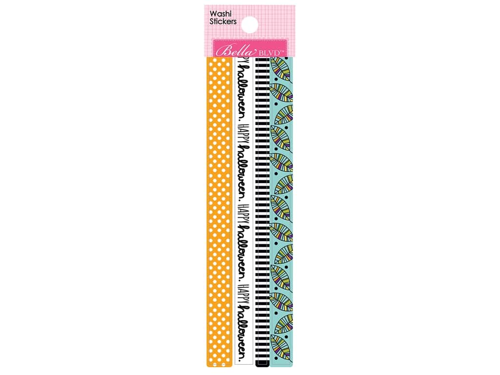 Bella Blvd Washi Stickers Spooktacular