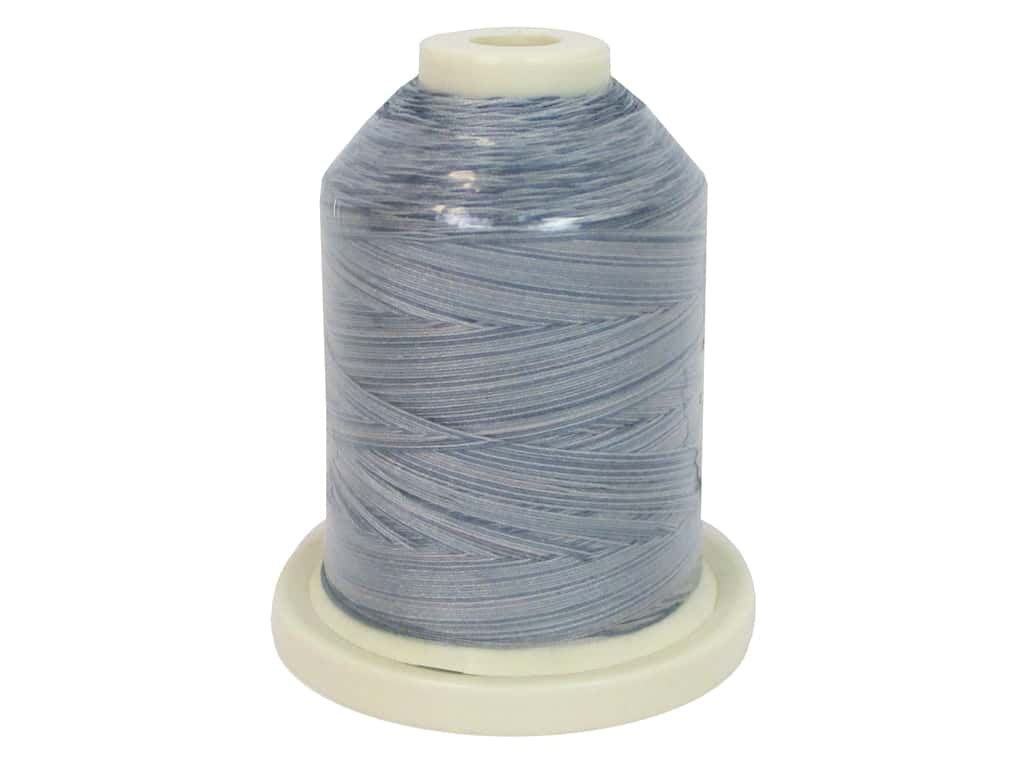 Signature 100% Cotton Thread 700 yd. #090 Variegated Grey Shades