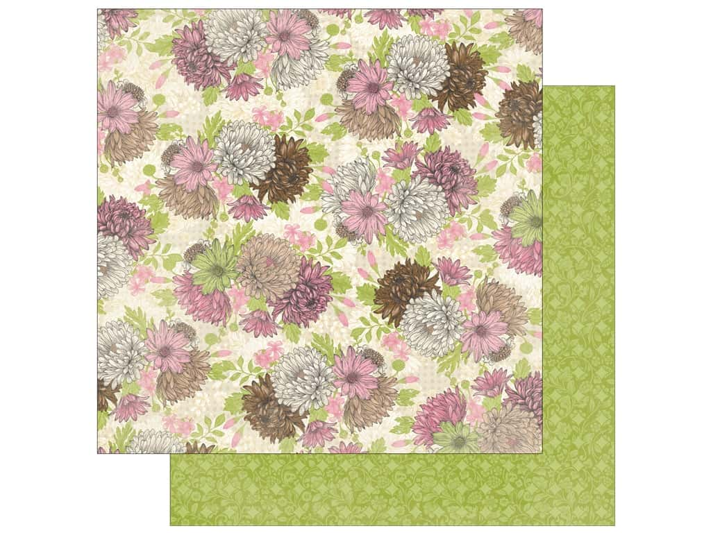 Bo Bunny 12 x 12 in. Paper Sweet Moments Heavenly (25 sheets)