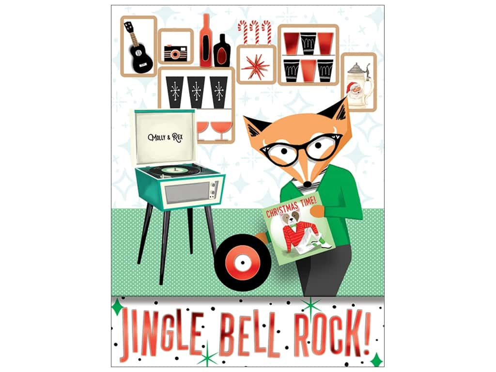 Molly & Rex Note Oh What Fun Pocket Pad Jingle Bell Rock