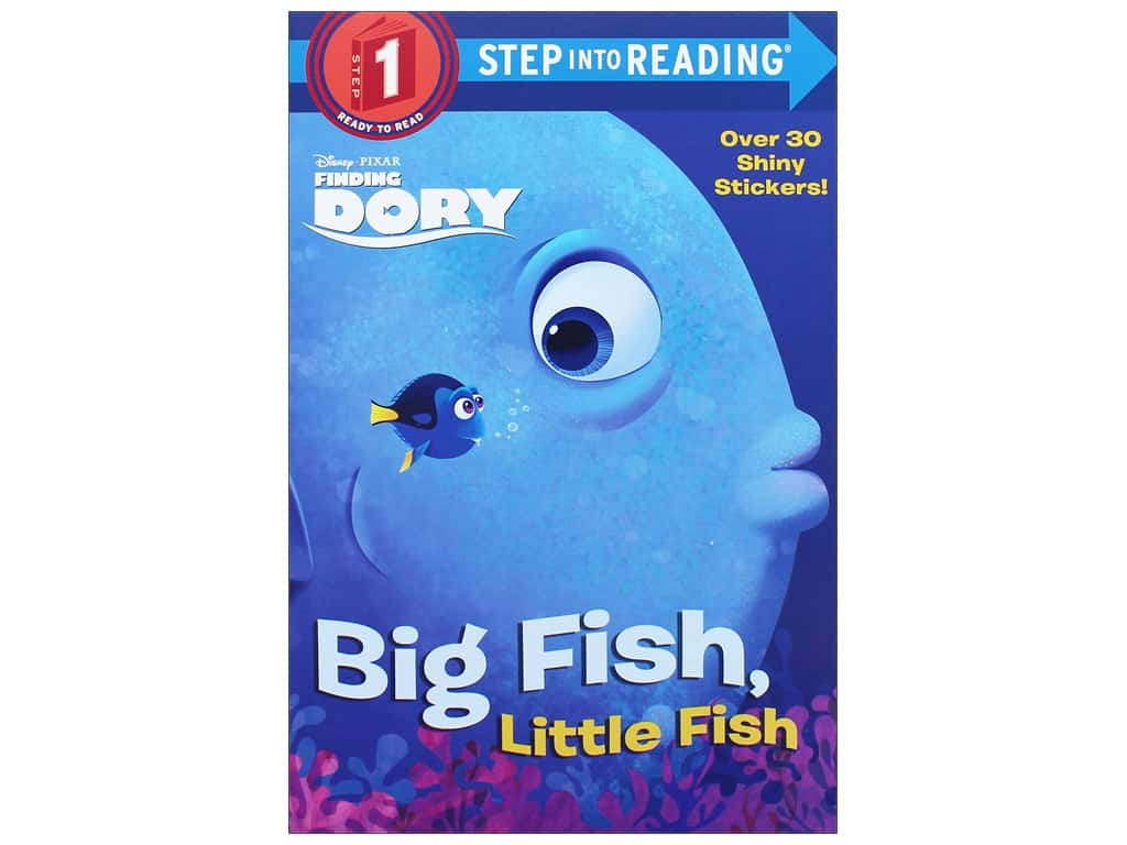 Random House Disney Big Fish Little Fish Book
