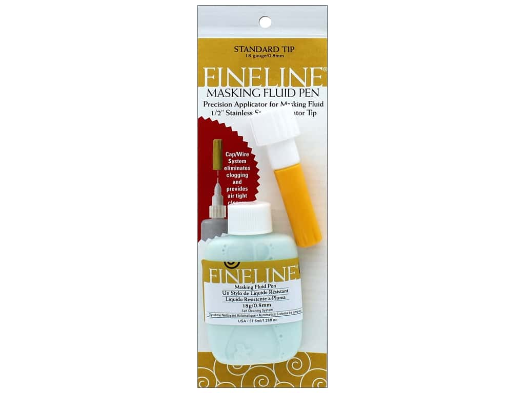 Fineline Products Masking Fluid Pen 1.25oz 18ga Standard Tip
