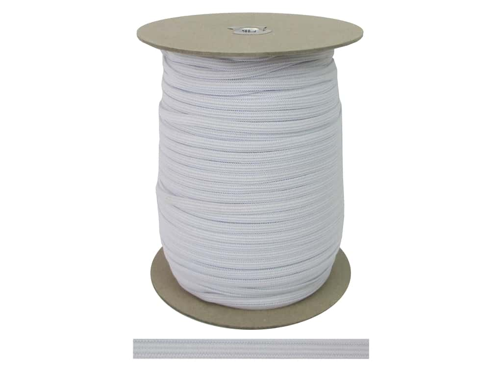 Pellon Knit Elastic 1/4 in. x 288 yd. White