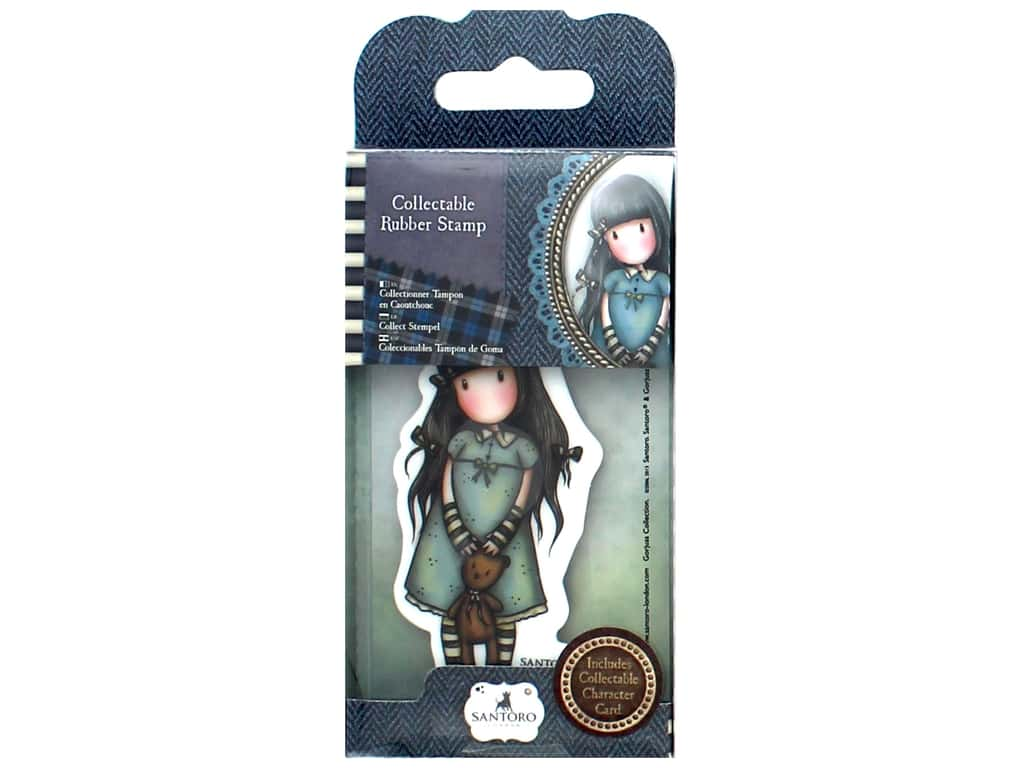 Santoro Gorjuss Collectable Rubber Stamp No. 4 Forget Me Not
