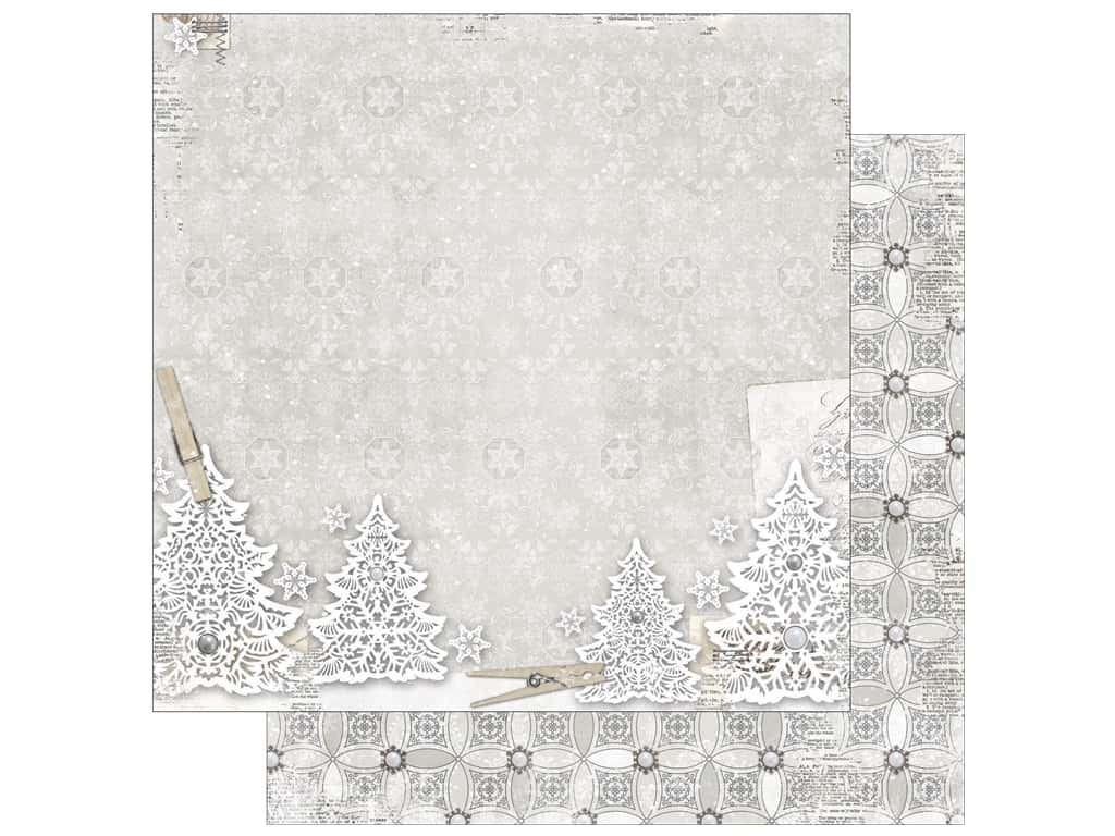 Bo Bunny 12 x 12 in. Paper Winter Wishes Wonderland (25 pieces)
