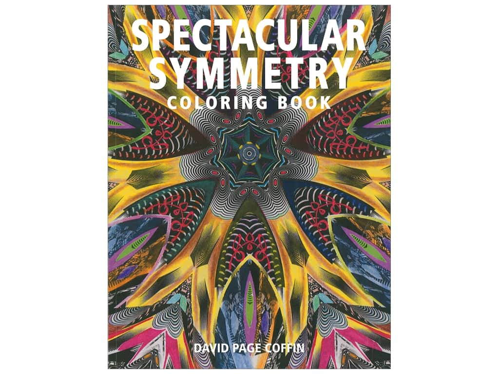 Taunton Press Spectacular Symmetry Coloring Book