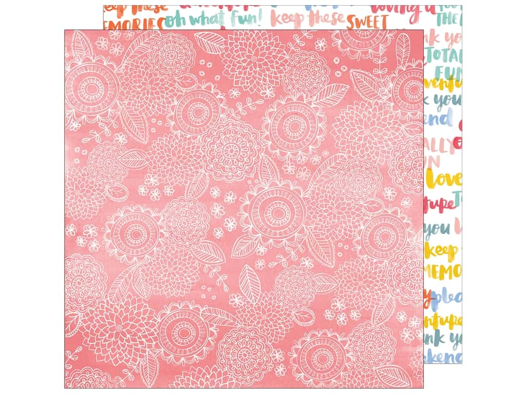 American Crafts 12 x 12 in. Paper Oh Happy Life Sweet Things (25 sheets)