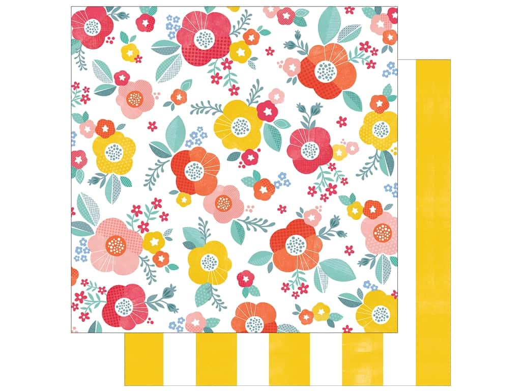 American Crafts 12 x 12 in. Paper Oh Happy Life Good Morning (25 sheets)