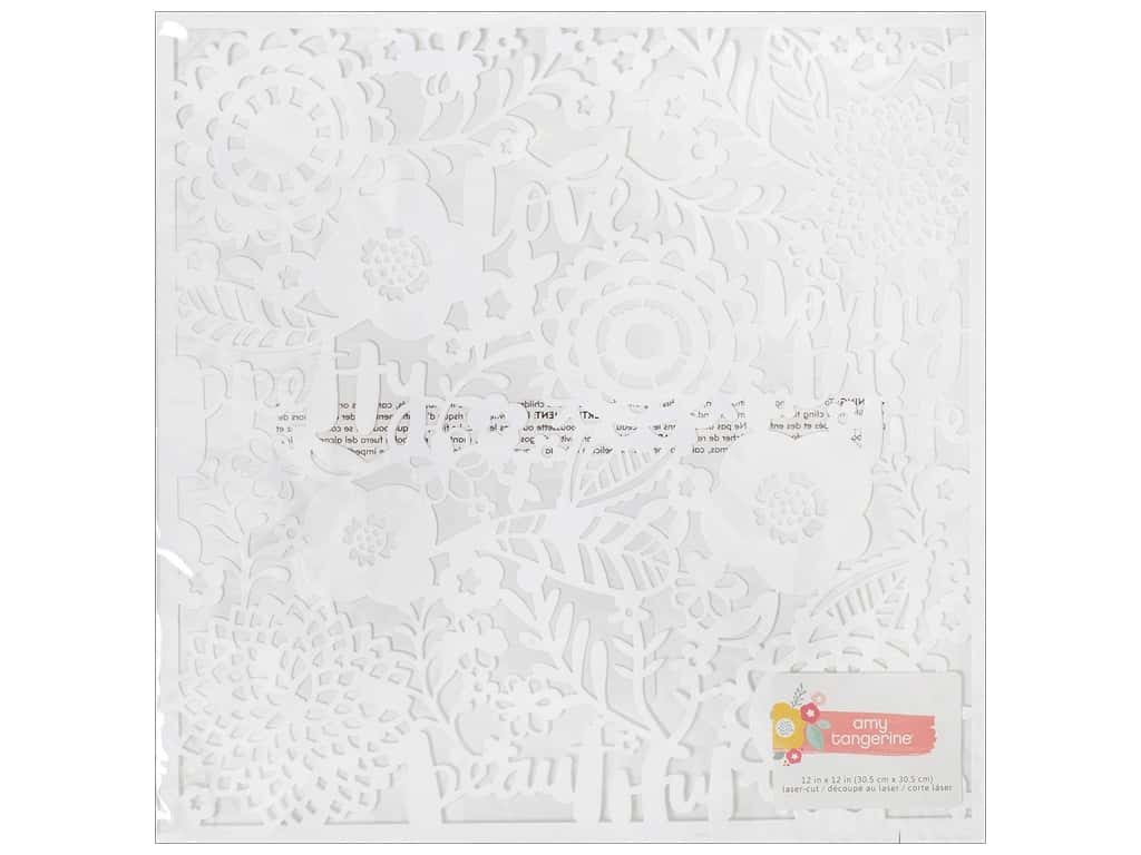 AMC Collection Oh Happy Life Collection Laser Cut Much Love