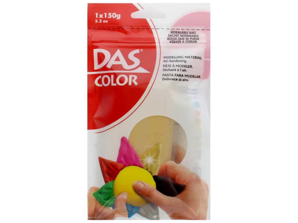 DAS Color Modeling Clay 5.3 oz. Gold