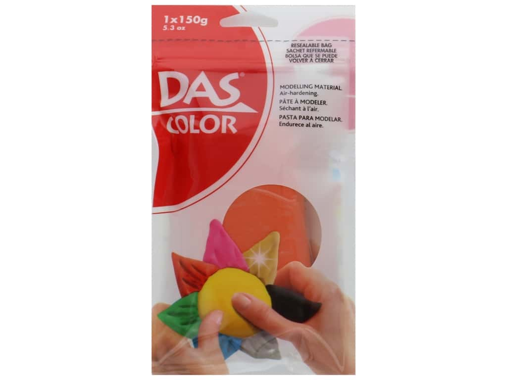 DAS Color Modeling Clay 5.3 oz. Orange