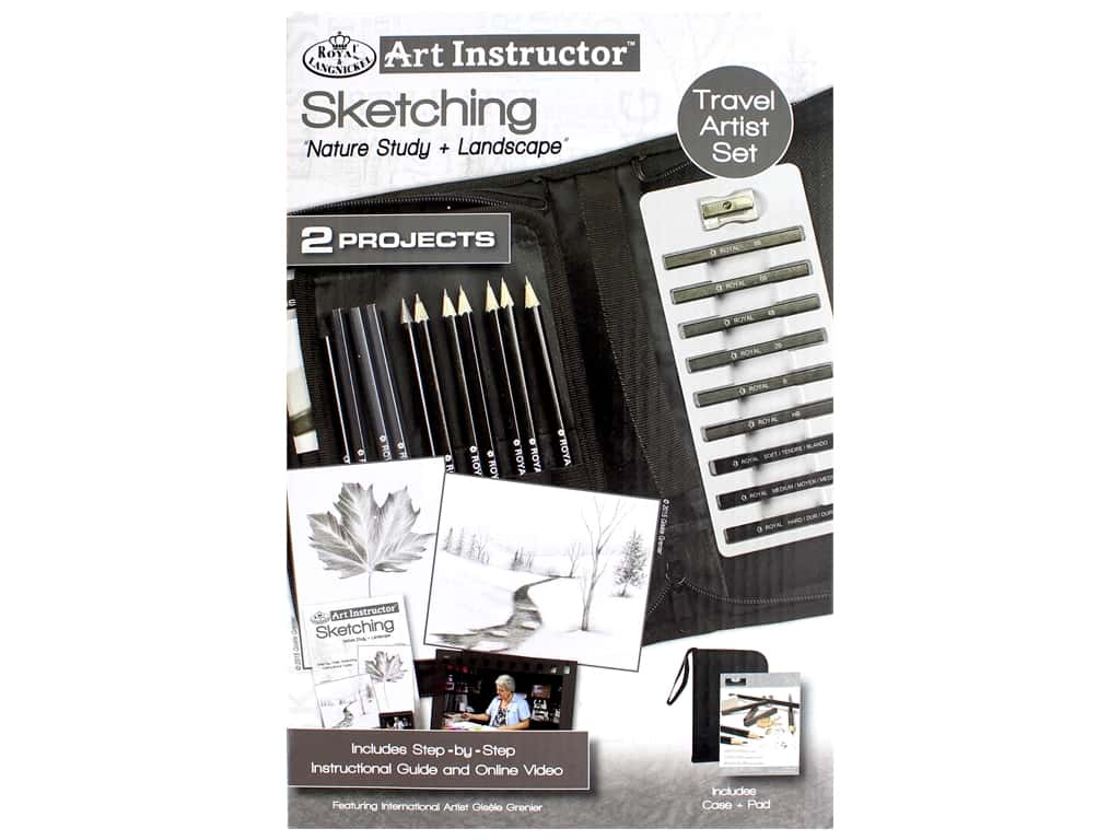Royal Set Art Instructor Travel Sketching
