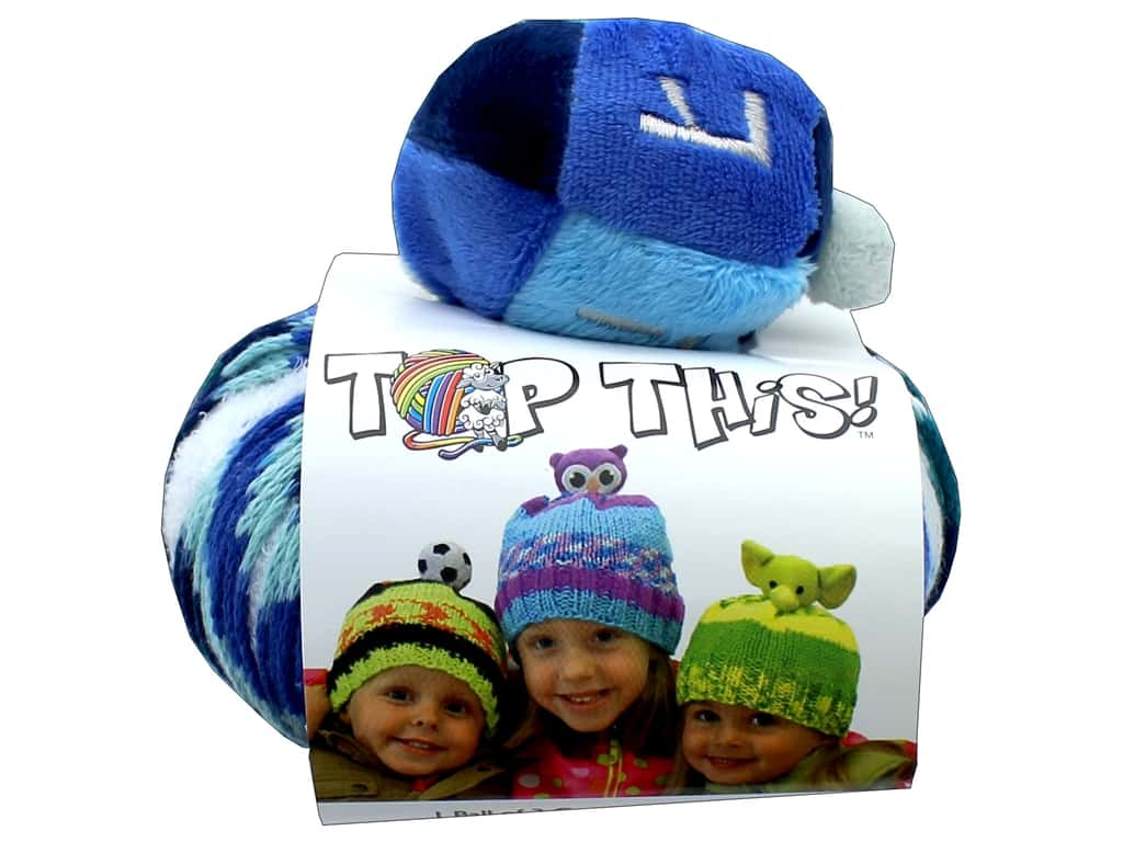 DMC Top This Yarn Kit Dreidel