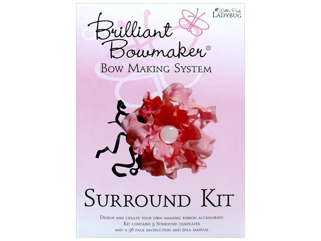 Little Pink Ladybug Brilliant Bowmaker Kit Surround