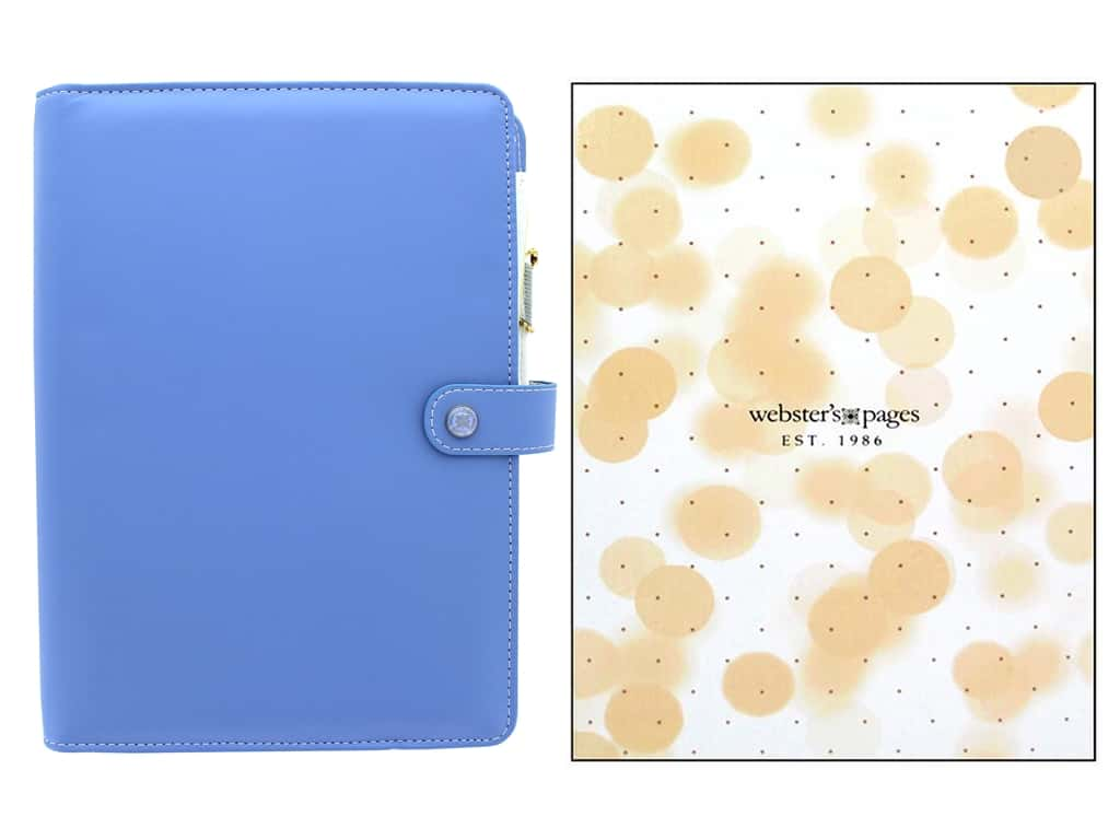 Webster's Pages Color Crush Planner Kit A5 Periwinkle Box 2015/2016
