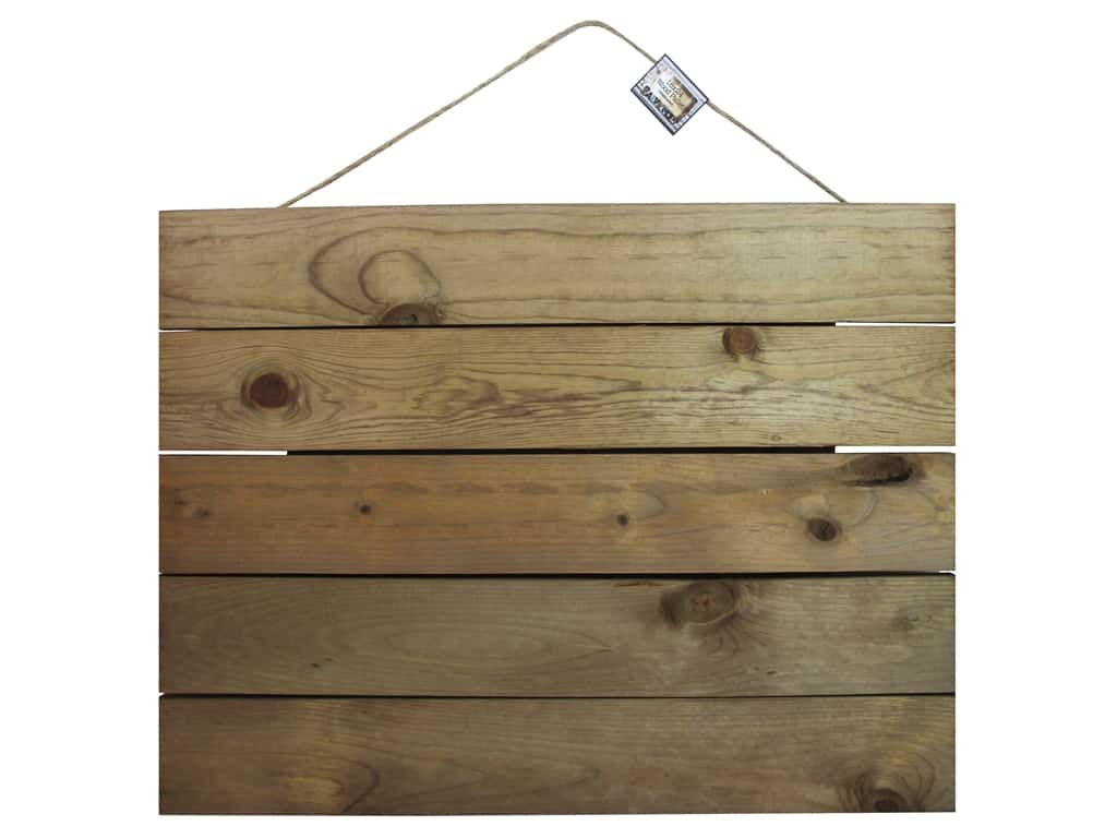 "BCI Crafts Salvaged Wood Pallet 18""x 24"" Weathered"