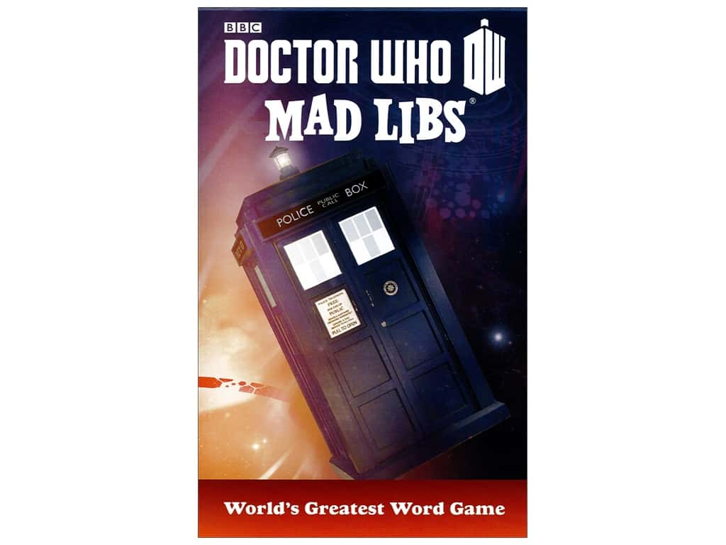 Doctor Who Mad Libs Book