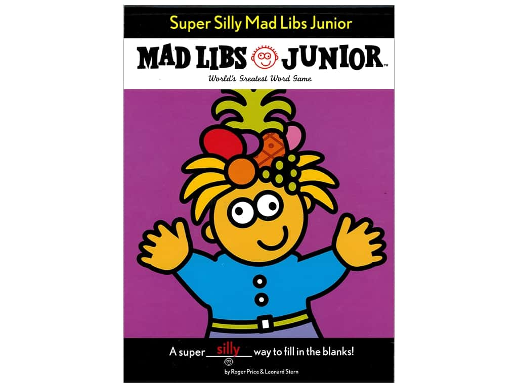 Super Silly Junior Mad Libs Book