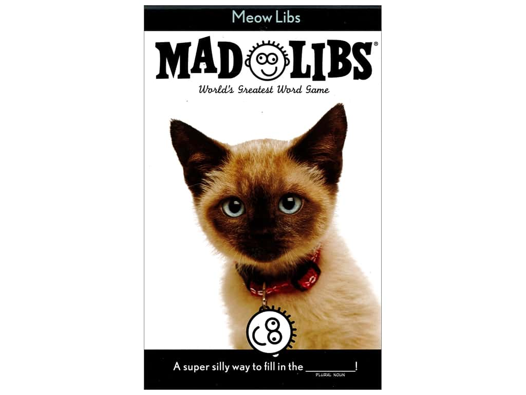 Meow Libs Book Mad Libs Book