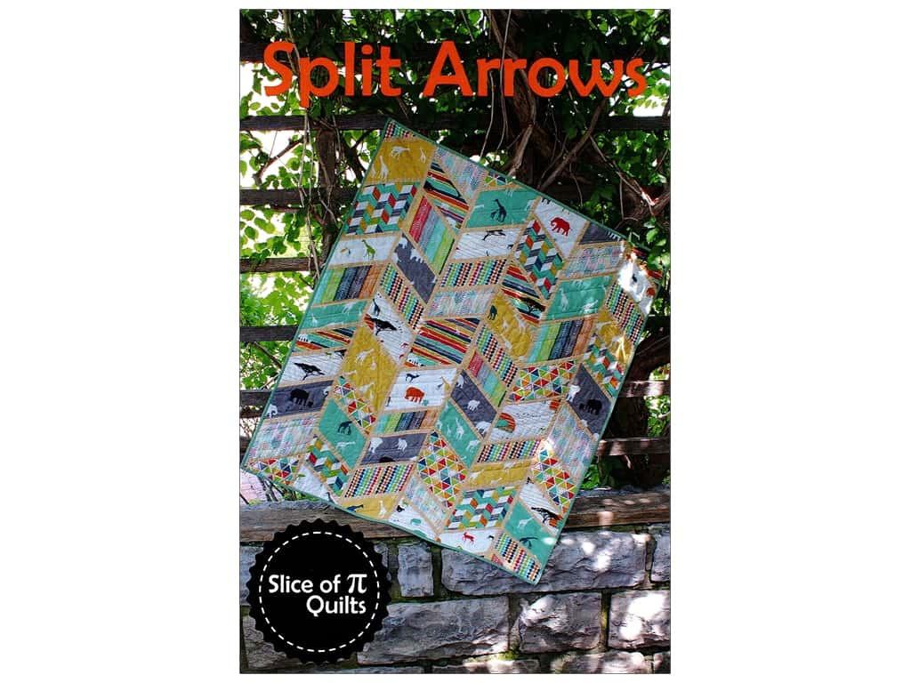 Slice Of Pi Quilts Splits Arrows Pattern
