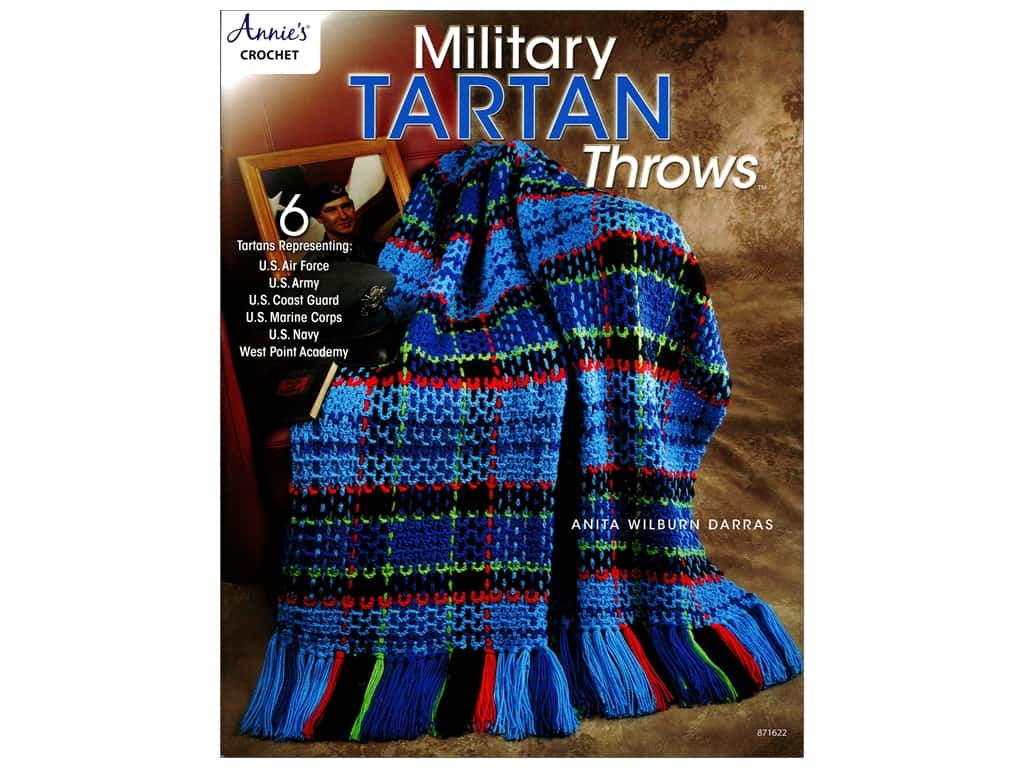 Military Tartan Throws Book by Anita Wilburn Darras