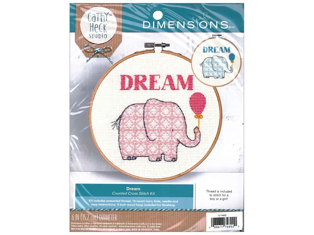 Dimensions Cross Stitch Kit Cathy Heck Dream