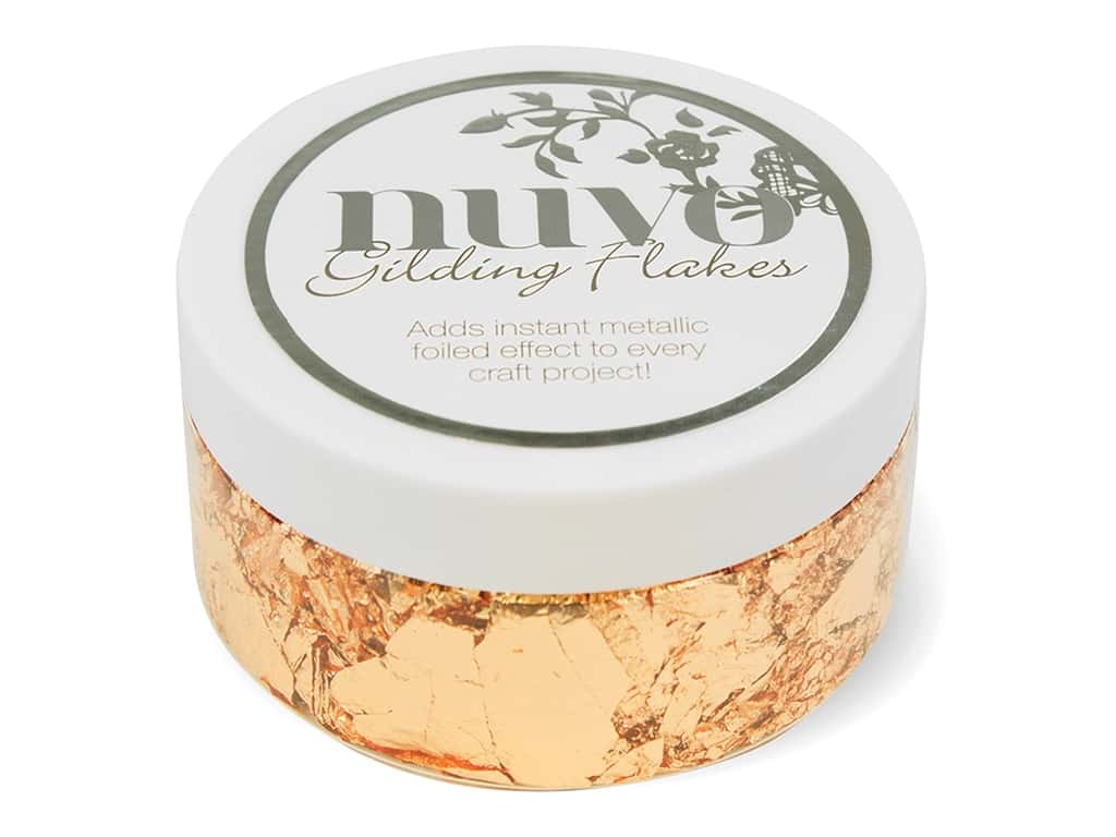 Nuvo Gilding Flakes Sunkissed Copper