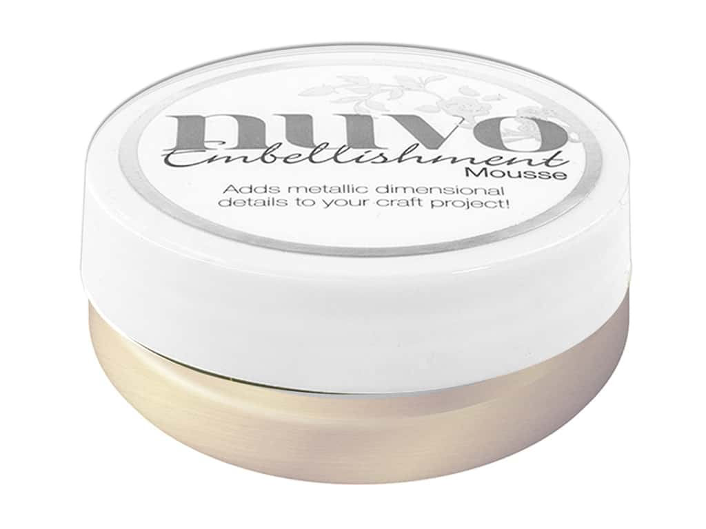 Nuvo Embellishment Mousse 2.2 oz. Mother Of Pearl