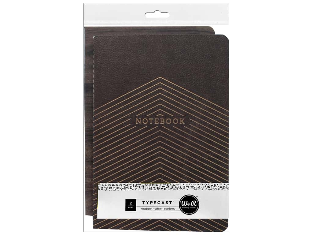 We R Memory Keepers Typecast Notebooks with Pockets
