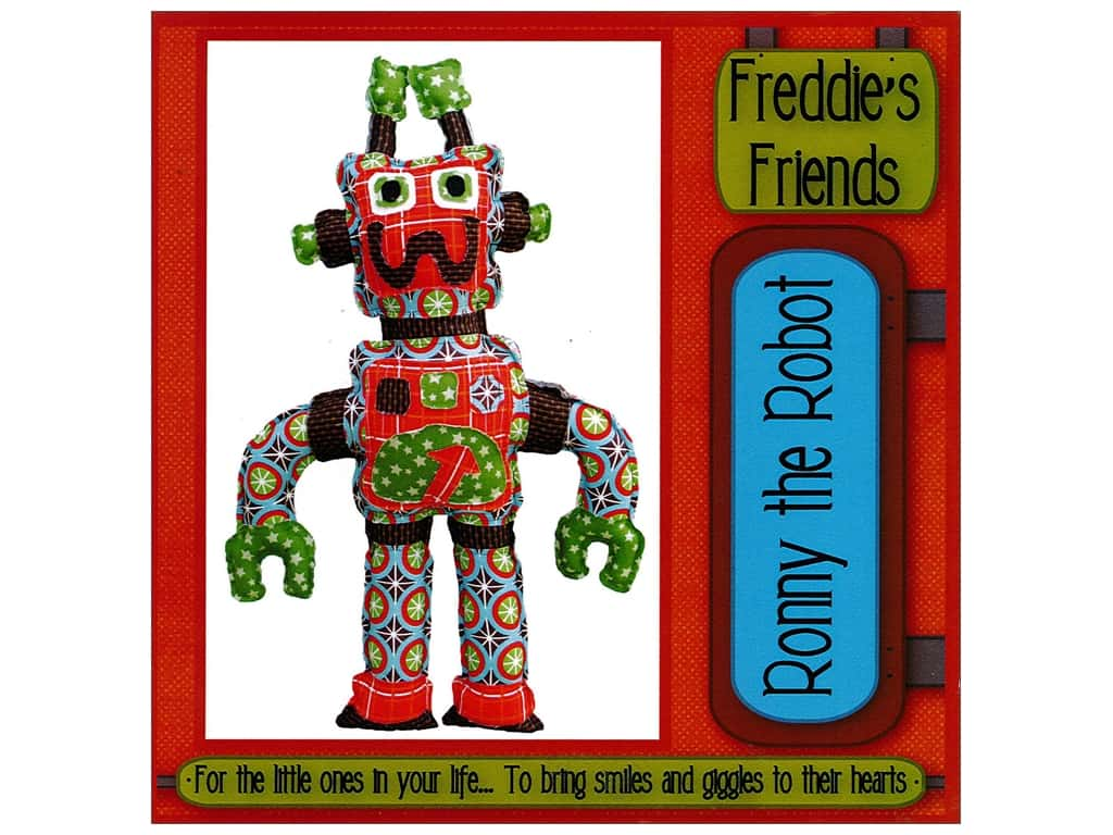 Freddie's Friends Ronny The Robot Pattern