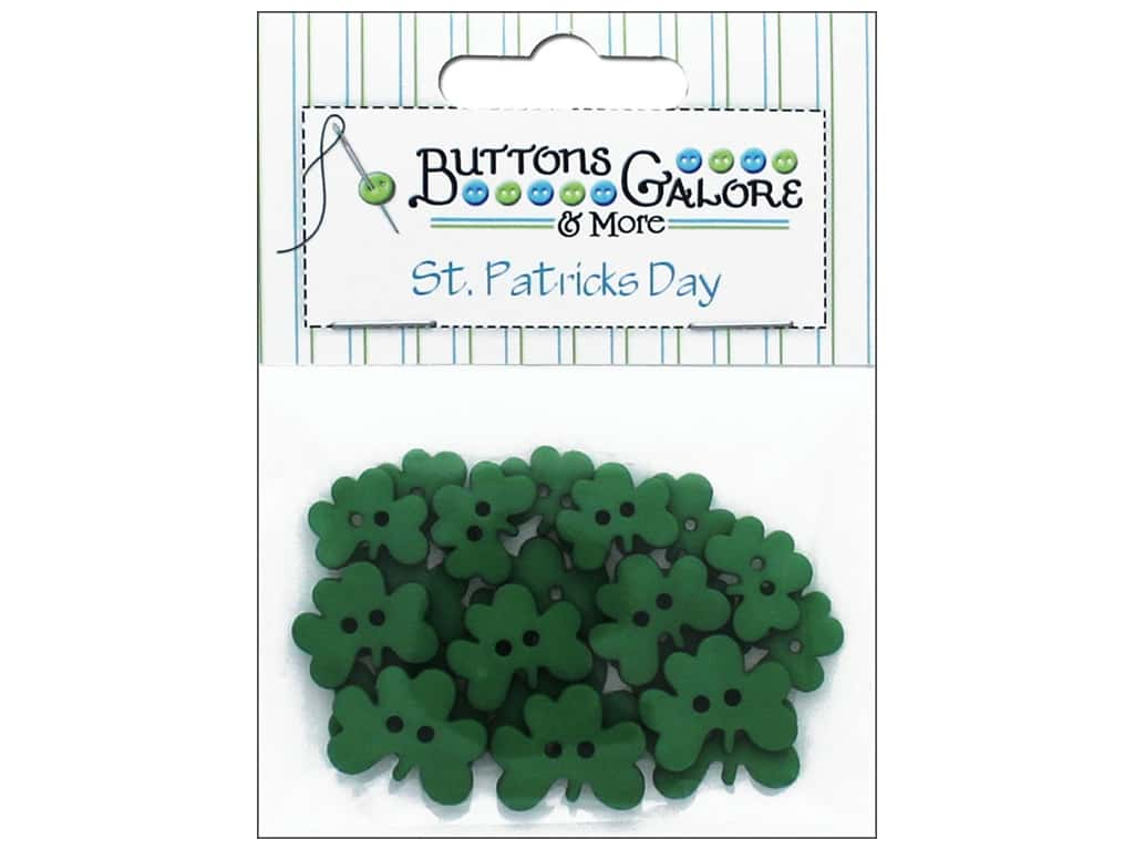 Buttons Galore Theme Buttons Luck Of The Irish