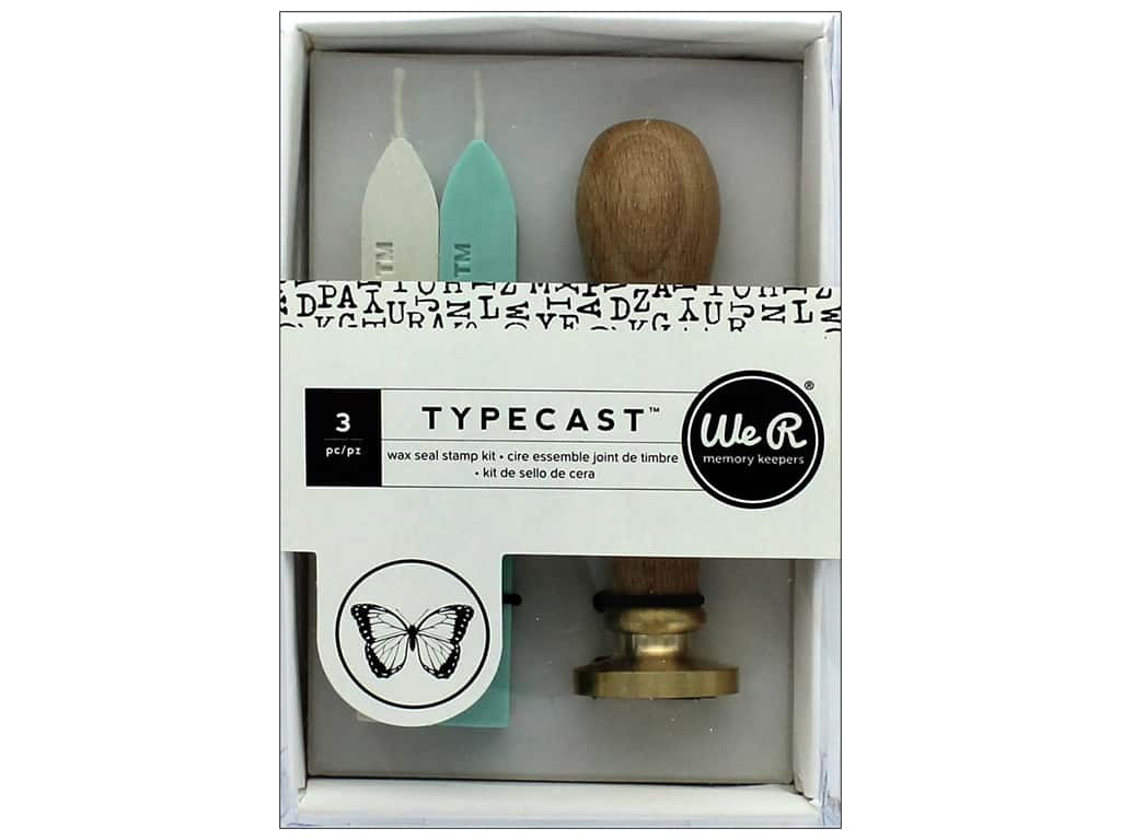 We R Memory Keepers Typecast Wax Seal Kit