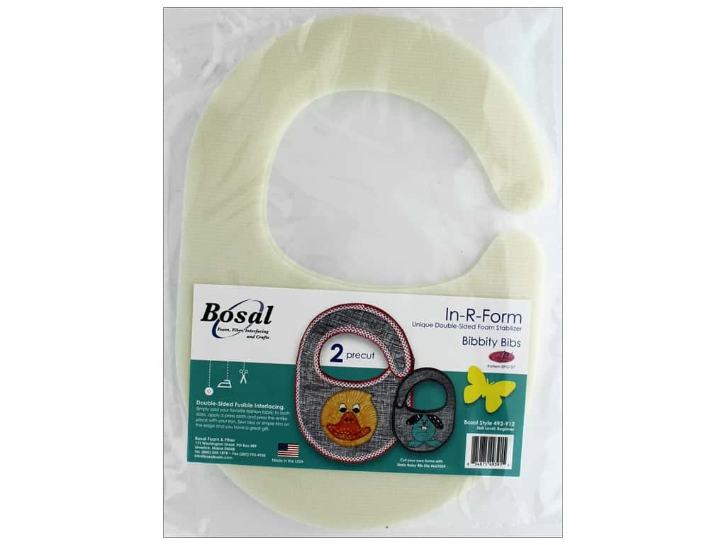 Bosal In R Form Foam Stabilizer Double Sided Fusible Bibbity Bibs