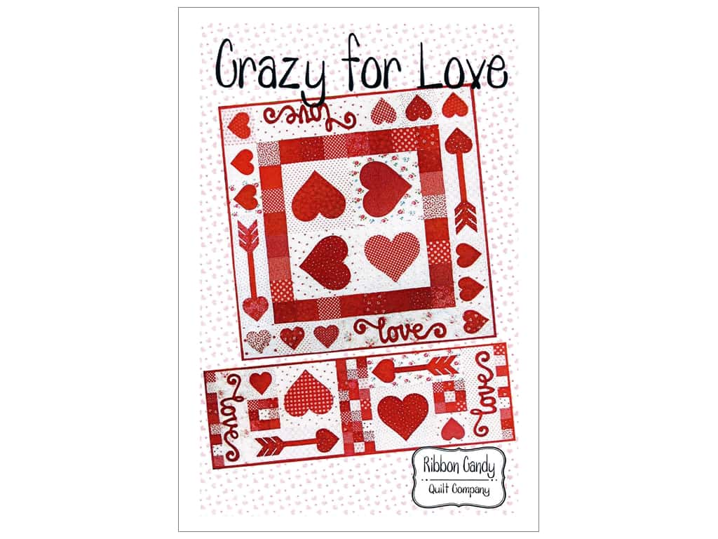 Ribbon Candy Quilt Crazy For Love Pattern