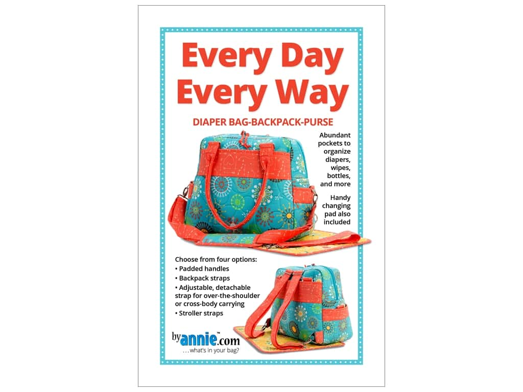 By Annie Every Day Every Way Pattern