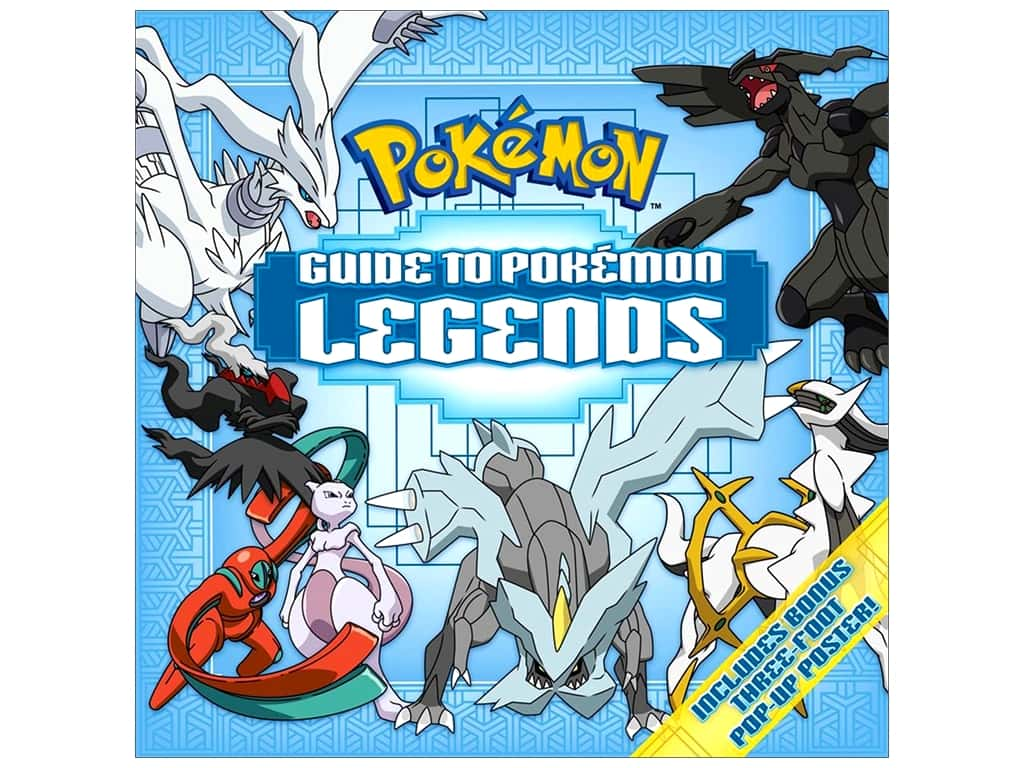 Pikachu Press Guide to Pokemon Legends Book
